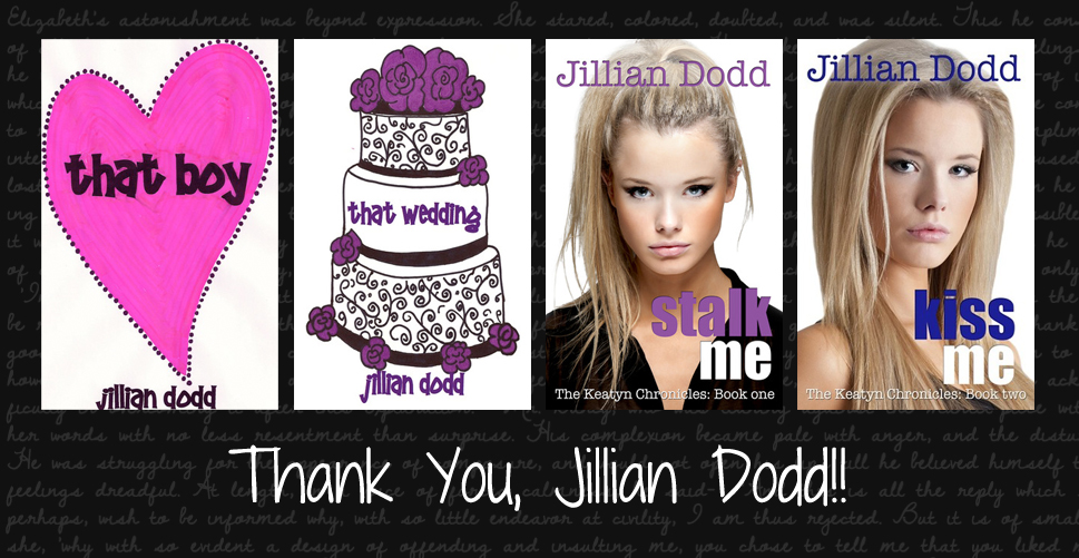 Jillian Dodd THANK YOU